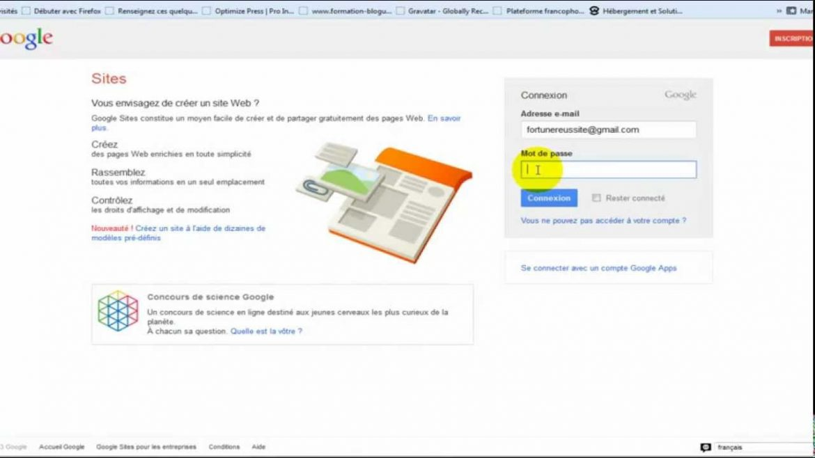 Comment creer un site internet gratuitement sur google - Comment installer open office gratuitement ...